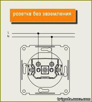 Электросхемы_электросоединения_розетка