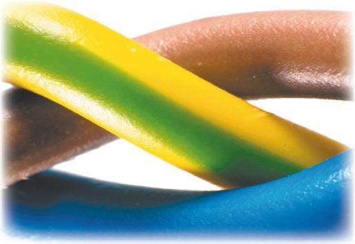 Стандартная цветовая маркировка трехжильного провода