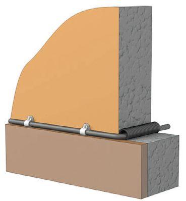 Прокладка провода сквозь стену