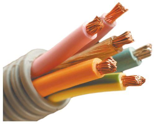 Защищенные гофрой провода