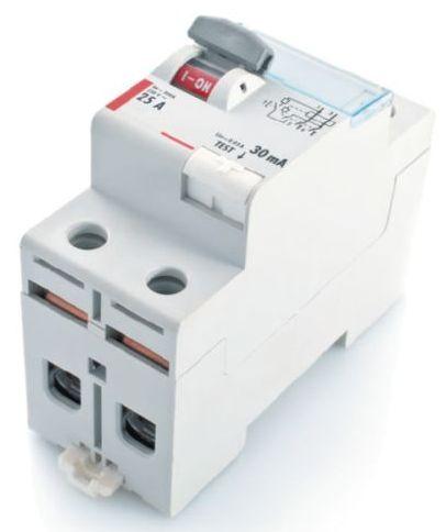 Устройство защитного отключения номинальной силой тока 25 А и отсечкой 30 мА