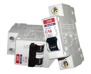 Классификация автоматического выключателей
