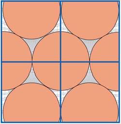 датчики присутствия с круговой и квадратной диаграммой