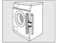 Установка стиральной машины Siemens