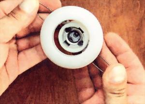 Встроенный светильник с пружинными упорами