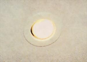 Встраиваемый в поверхность светильник с лампой накаливания
