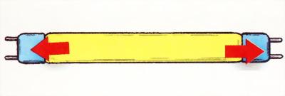 Трубчатая люминесцентная лампа