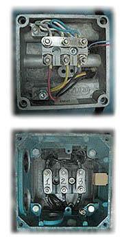 Определение начала и конца обмотки электродвигателя