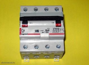 диференциальный автоматический выключатель - дифавтомат