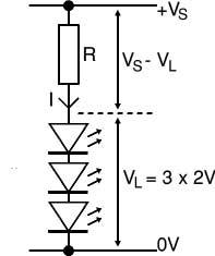 расчёт резистора светродиода