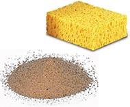 Гупка и песок