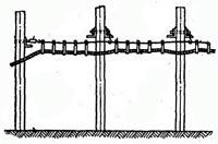 кабель на тросу