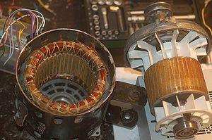 устройство асинхронных электродвигателей