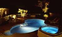 Светодизайн освещения в бассейне