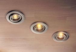 Расчет и монтаж сети освещения на точечных светильниках