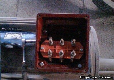Клеммник двигателя